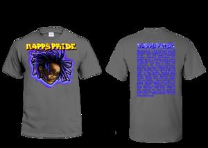 Lil Jasper Deep Purple NappyPride T-Shirt