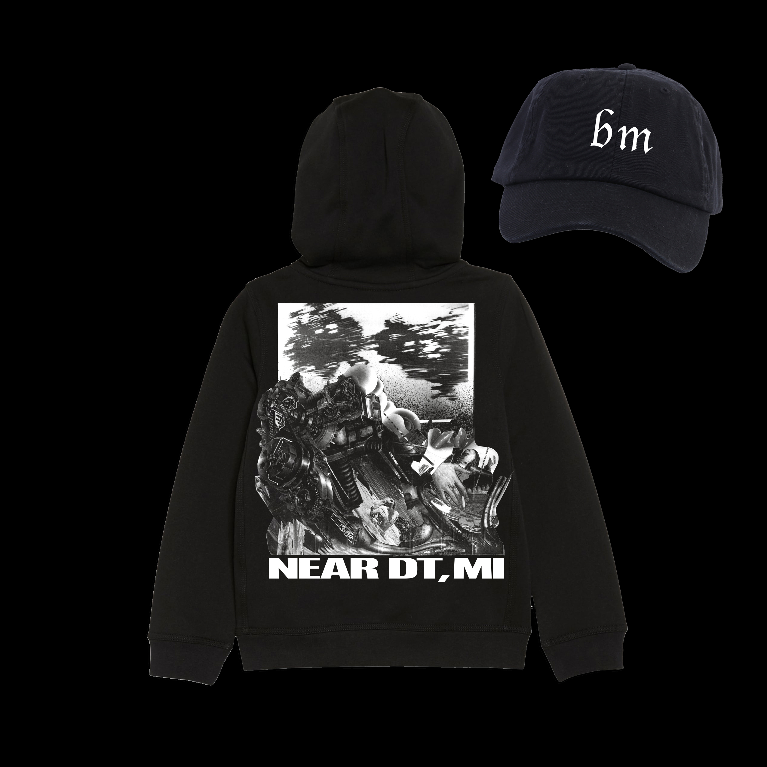 bm cap + Near DT, MI Hoody Bundle