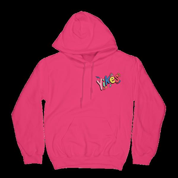 Yikes Hoodie - Pink