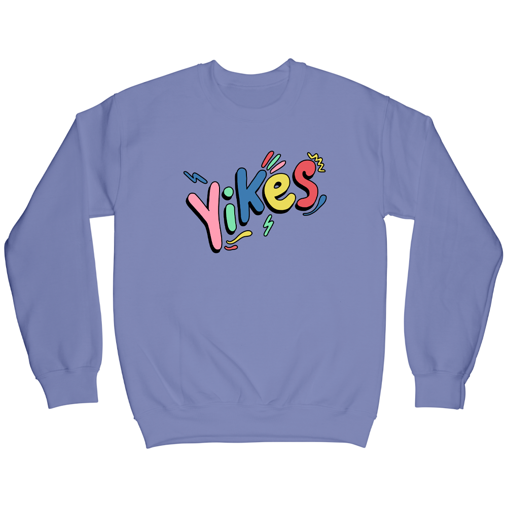 Yikes Crewneck - Violet