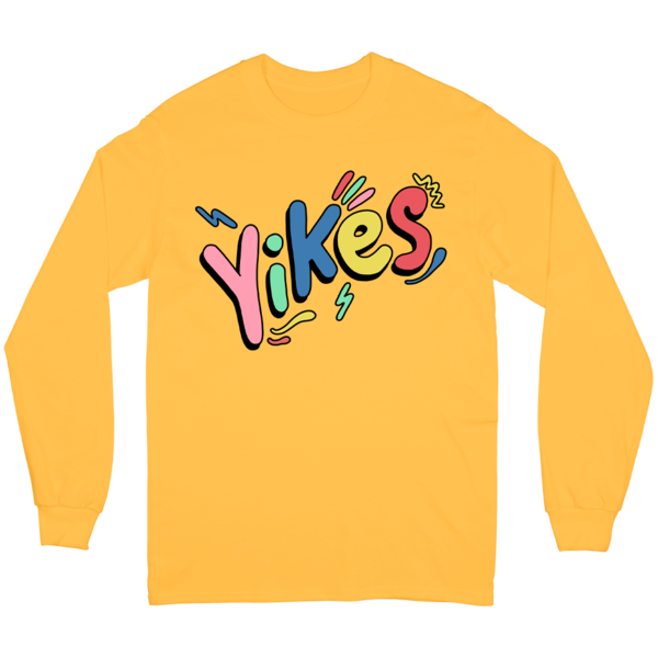 Yikes Long Sleeve - Gold