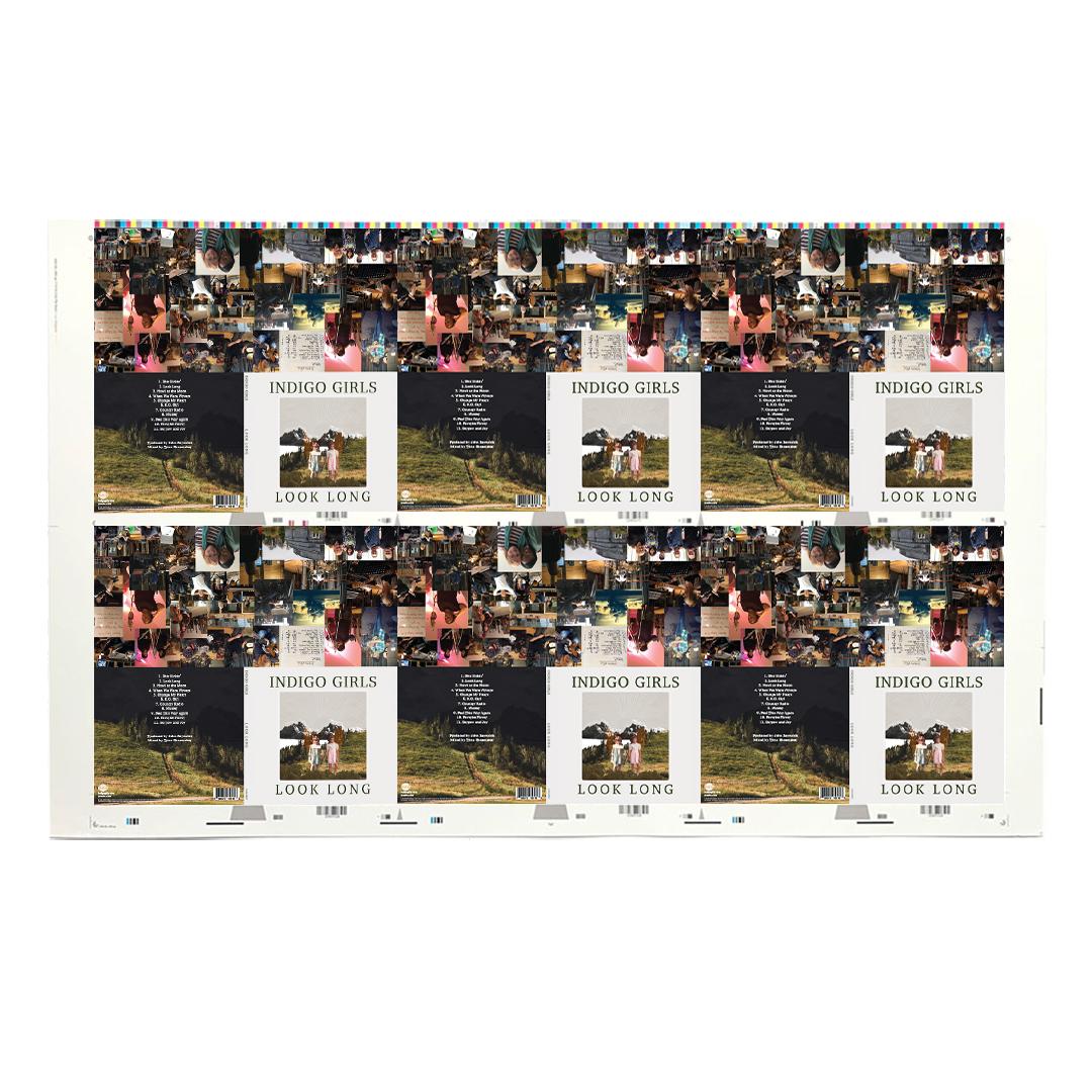 Signed Look Long Art Proof + Album Download (limit of 15)