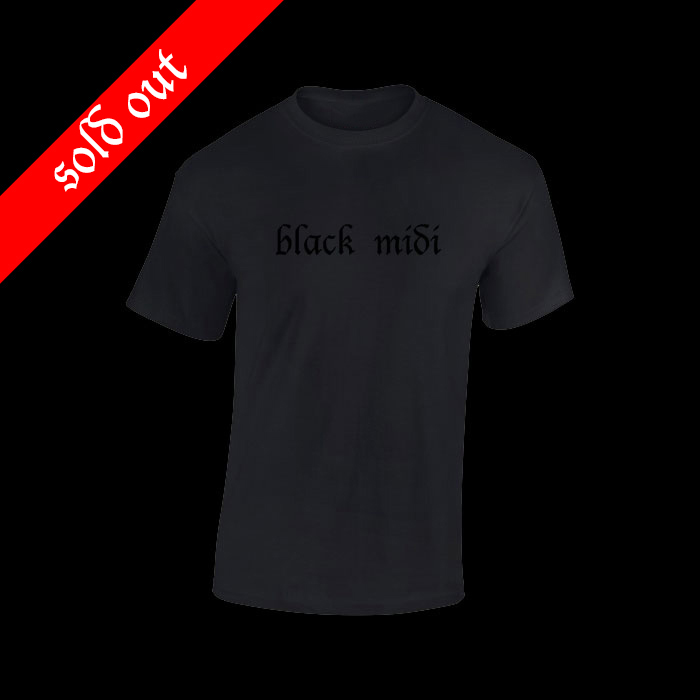 Black Midi T-Shirt
