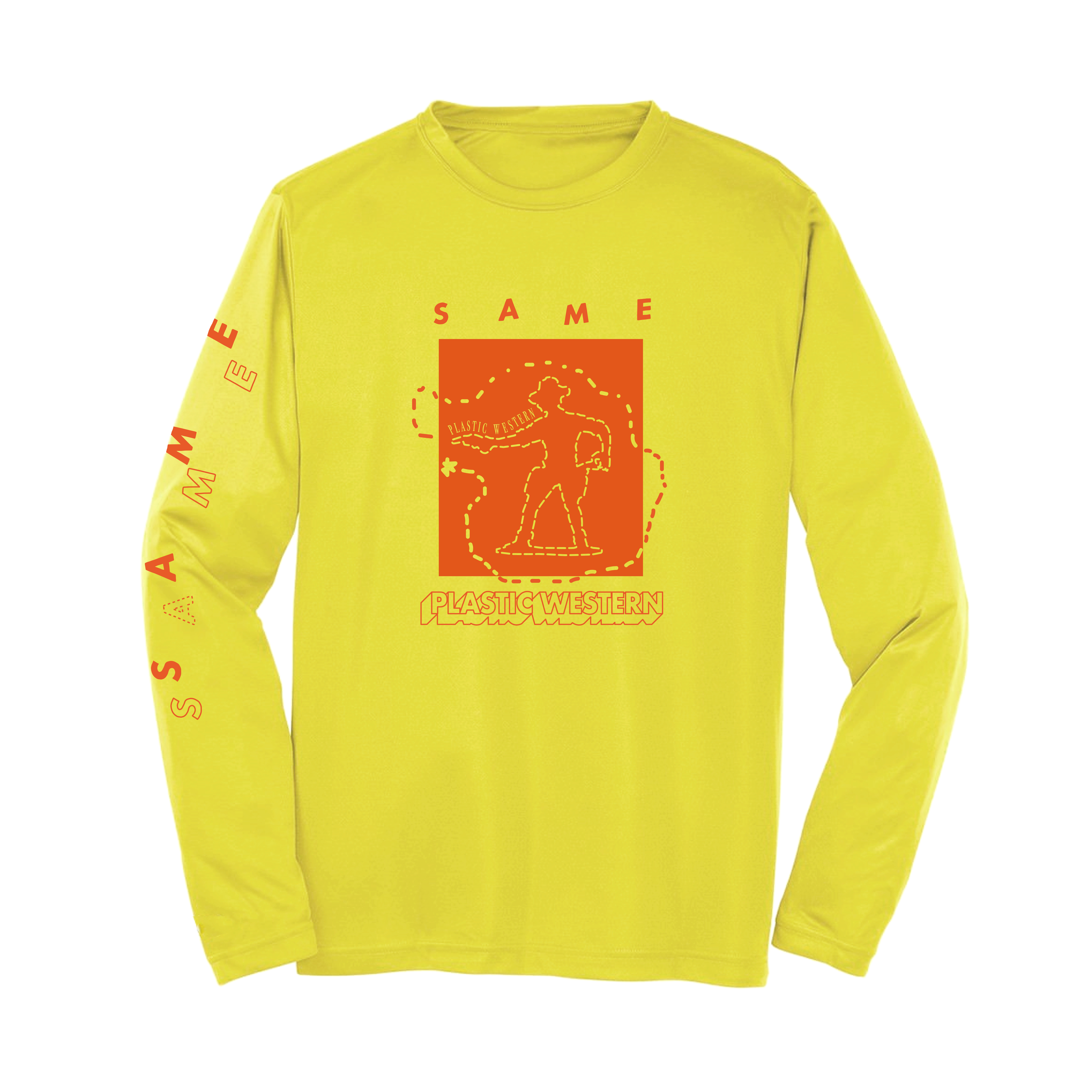 Same -  Abstract Yellow Longsleeve