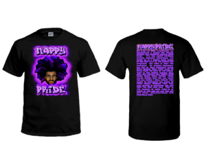AfroMan Purlpe NappyPride T-Shirt