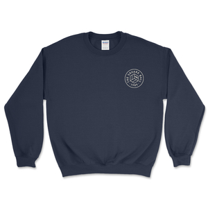 Navy Chest Logo Sweatshirts