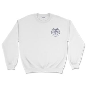 White Chest Logo Sweatshirts