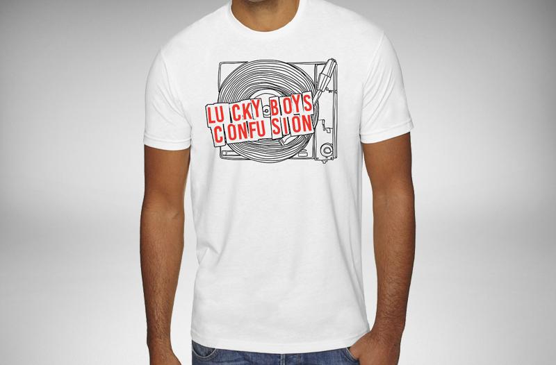 Lucky Boys Confusion - Record Shirt