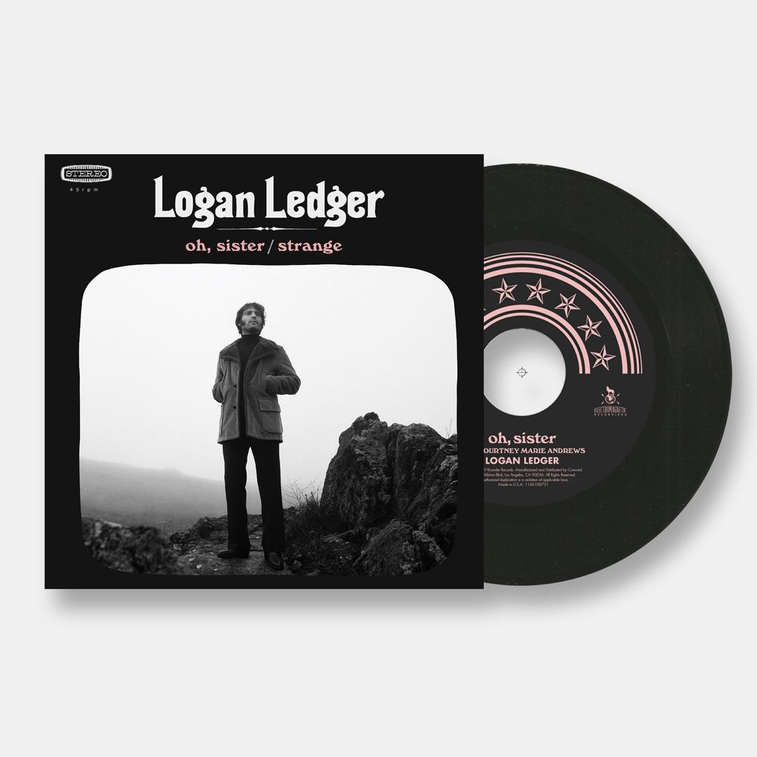 """Logan Ledger """"Oh, Sister / Strange"""" 7''"""