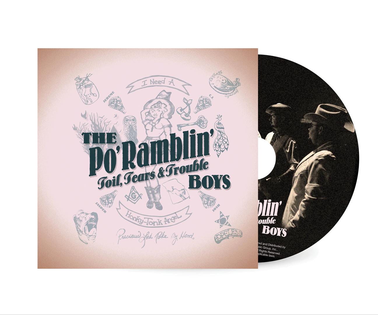 "The Po' Ramblin' Boys ""Toil, Tears & Trouble"""
