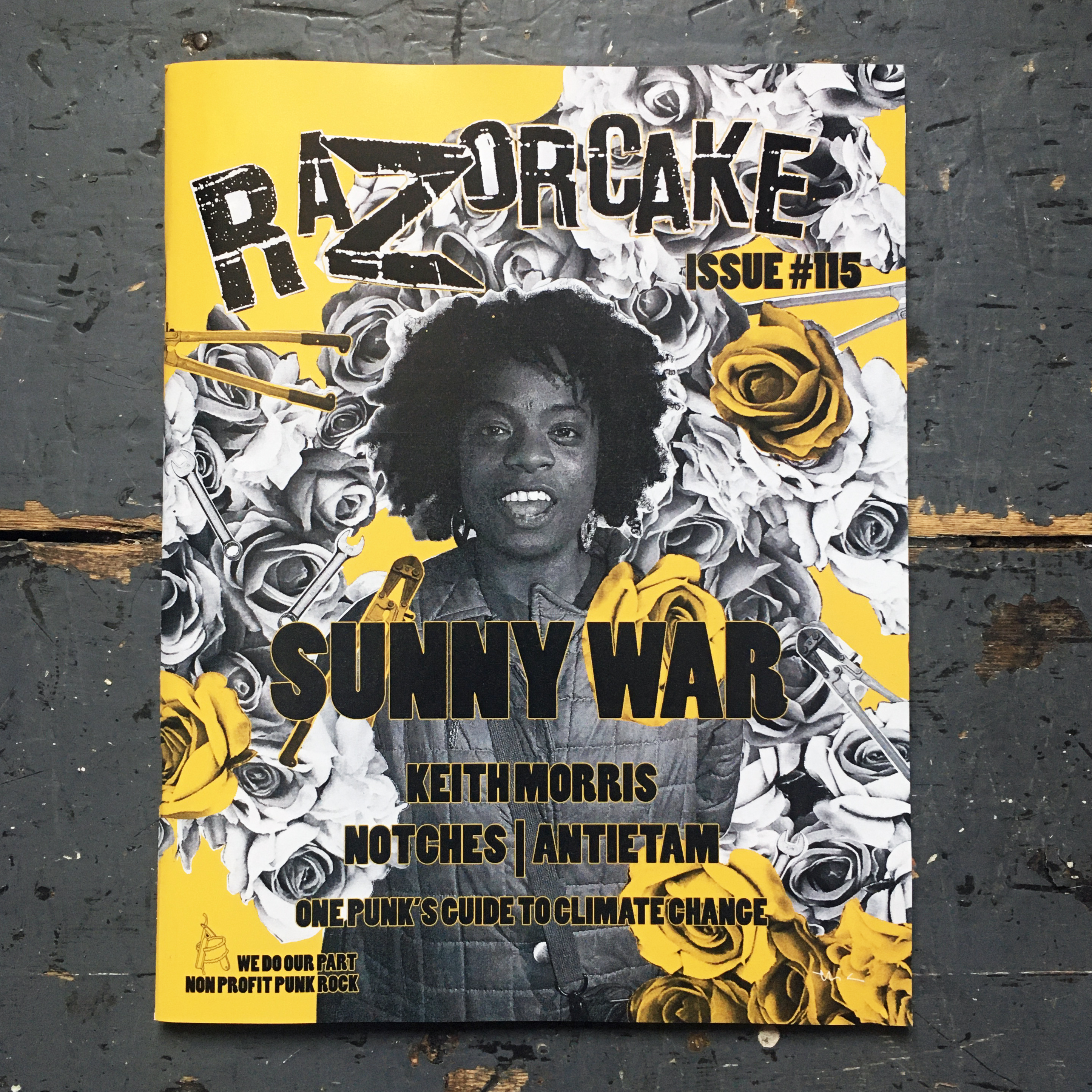Razorcake #116, Subscriptions & Back Issues