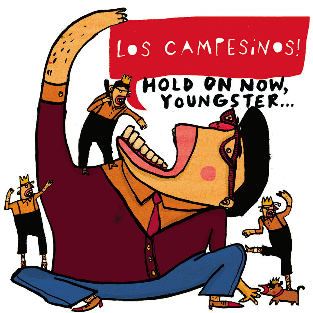 Los Campesinos! - Hold On Now, Youngster... LP