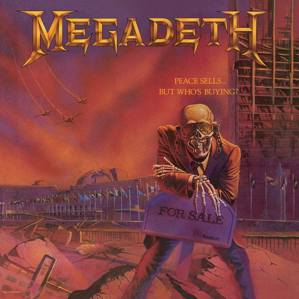 Megadeth - Peace Sells... But Who's Buying? LP