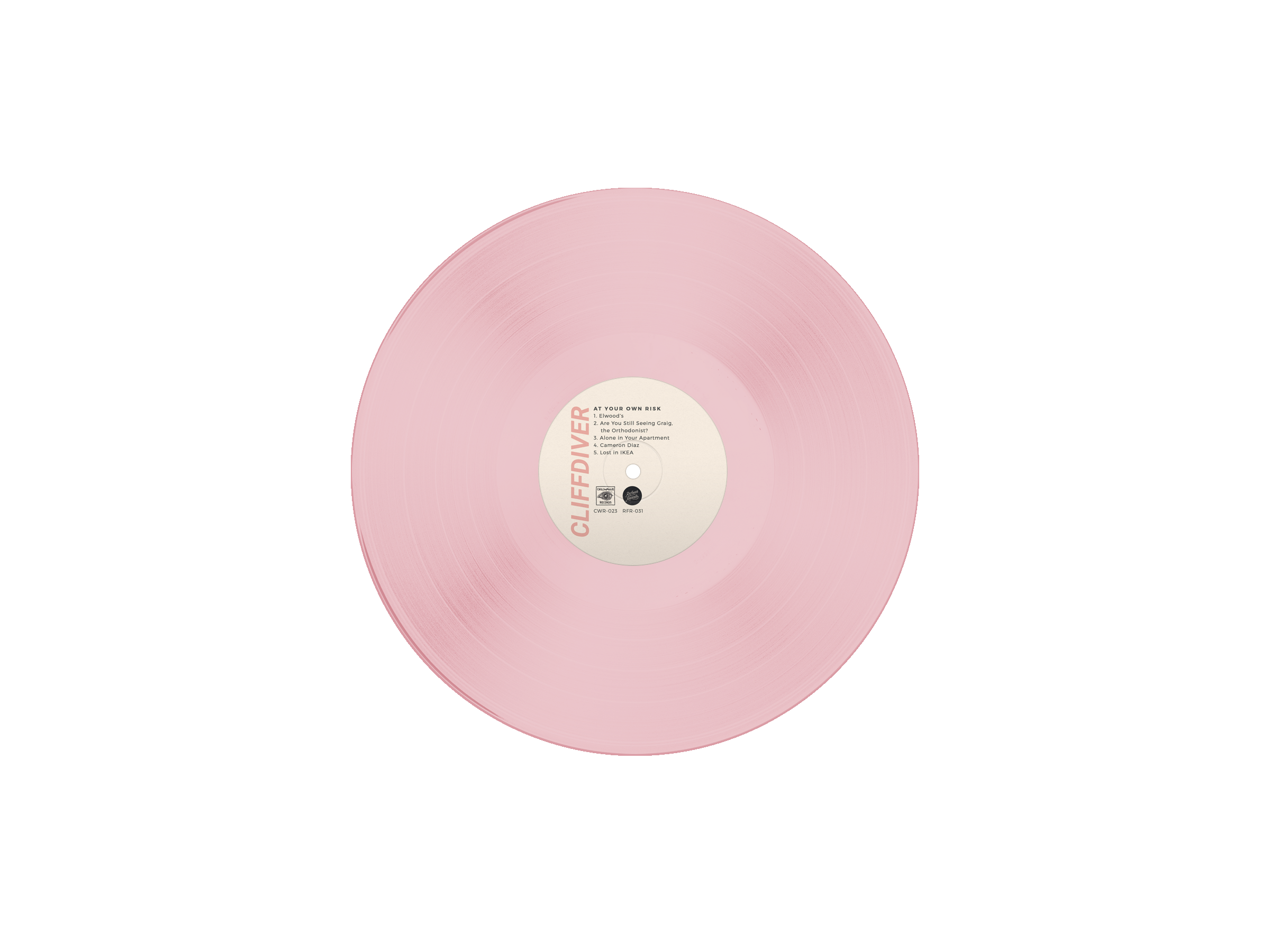 CLIFFDIVER - Discography Vinyl