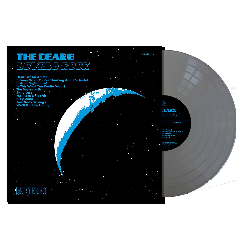 The Dears - Lovers Rock - Metallic Silver LP Bundle