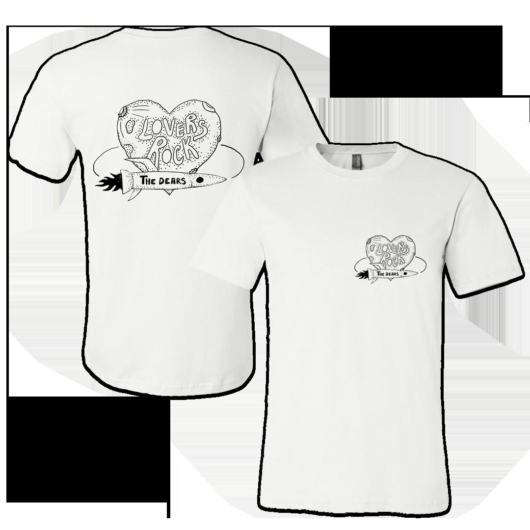The Dears - Lovers Rock - CD + Shirt + Poster Bundle