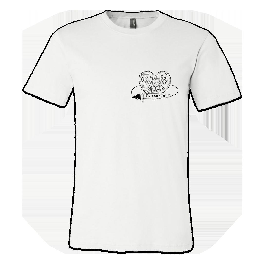 The Dears - Lovers Rock T-Shirt Bundle