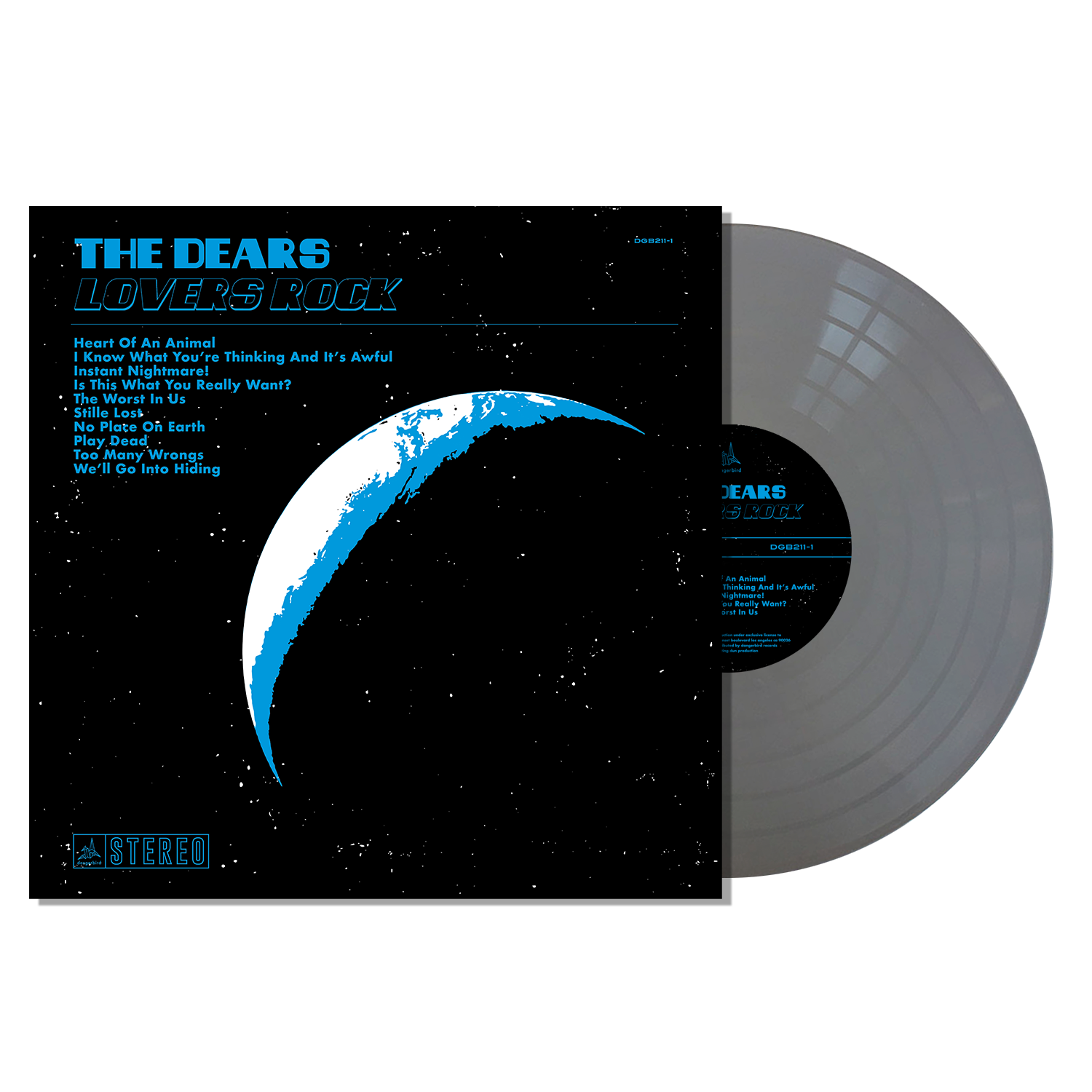 The Dears - Lovers Rock - Metallic Silver LP Bundle