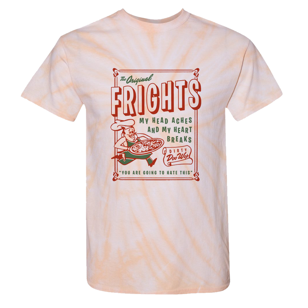 The Frights Tie Dye Pizza T Shirt Dangerbird Us