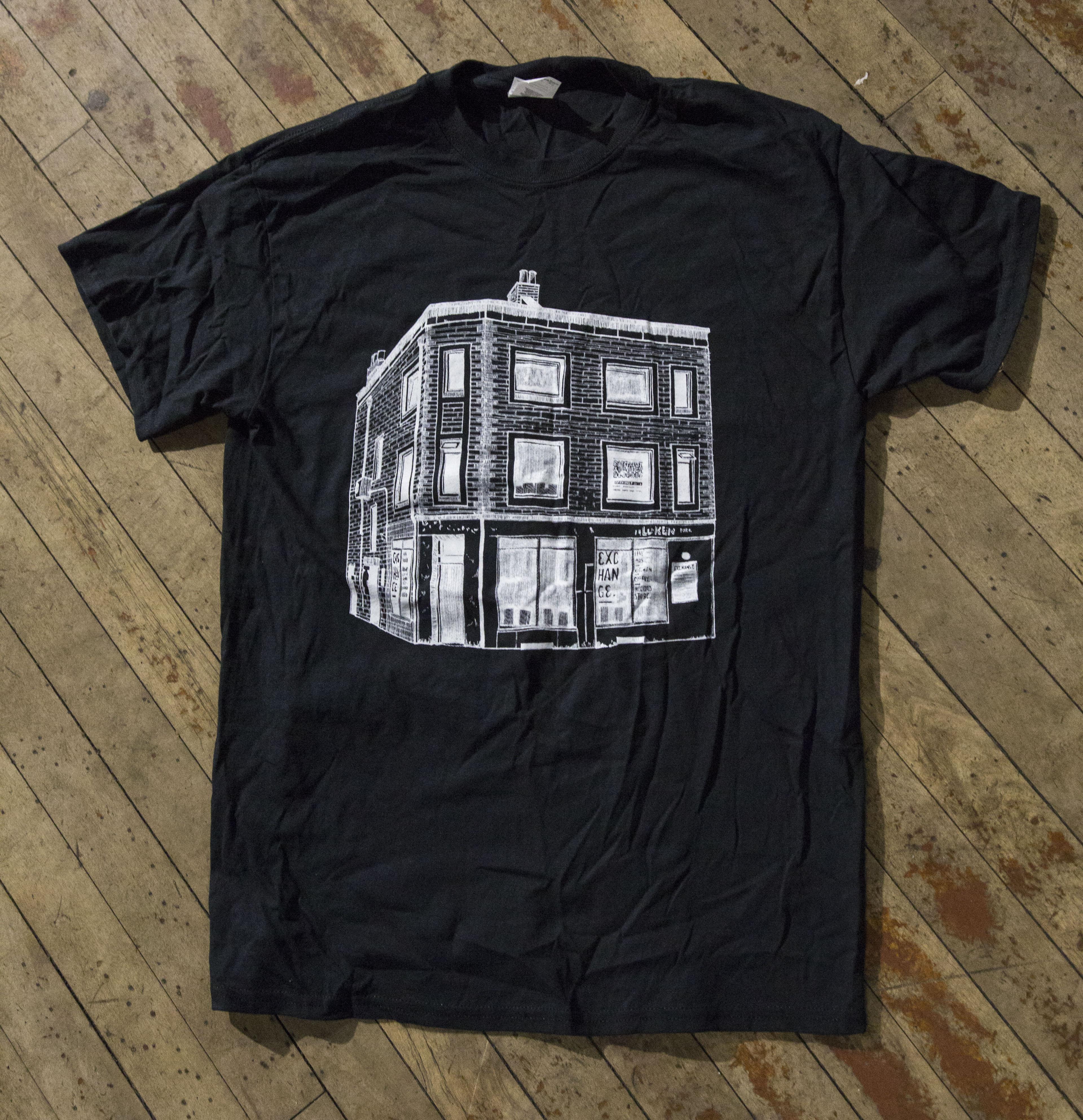 Exchange Music Venue T-shirt / Tote Bag