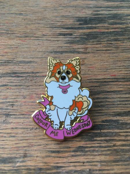Bunny the dog Enamel Pin
