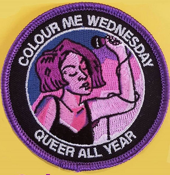 Embroidered Queer Patch