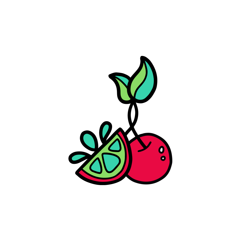 Cherry Lime Pin