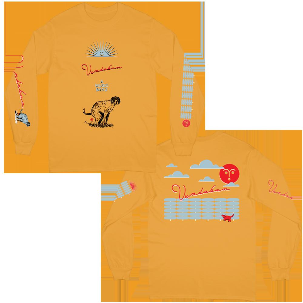 Sunny Dog Long Sleeve - Gold