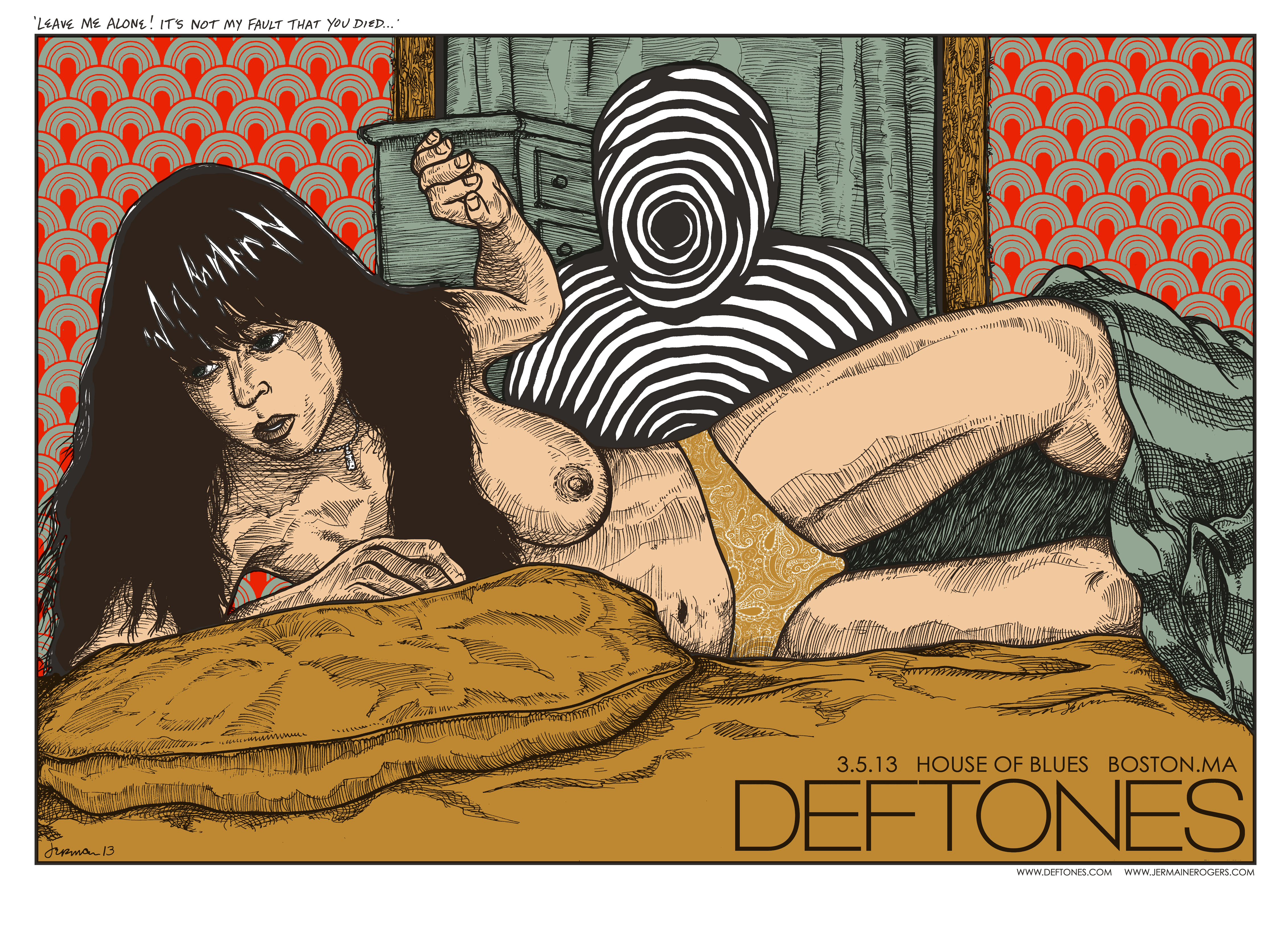 DEFTONES (Boston 2013) Studio Prints!