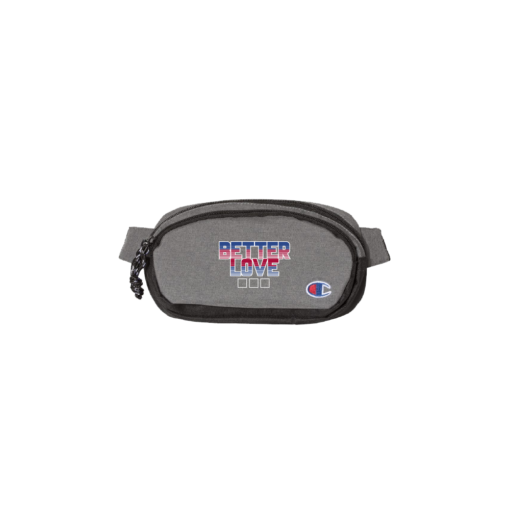 The Better Love on Champion Fanny Pack