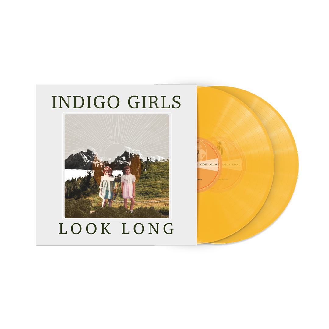 Signed or Unsigned Look Long Translucent Orange 2xLP Vinyl + Poster + Patch