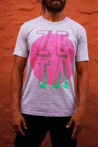 Zeta - Miami Vice Logo (Grey or White)