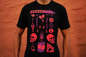 Zeta - Black T-shirt