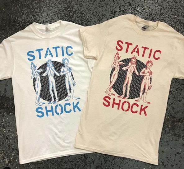 STATIC SHOCK - Three Punishers shirt
