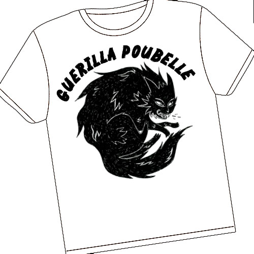 Guerilla Poubelle - TS angry cat