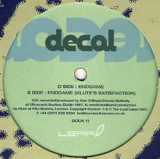 Decal – Endgame (Leaf)