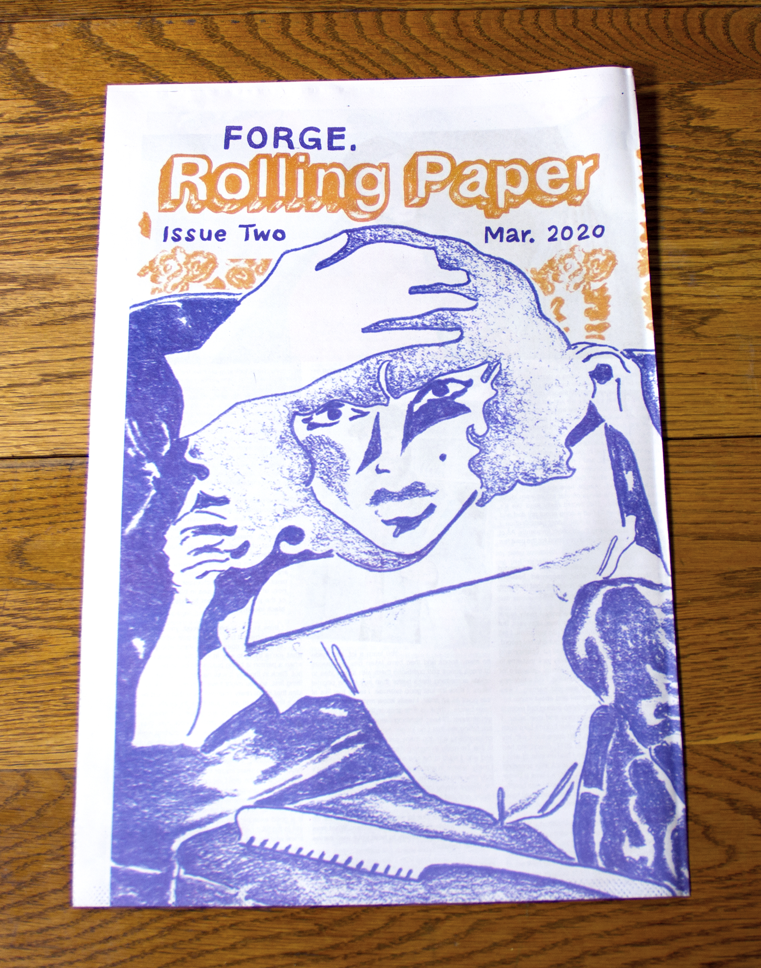 FORGE Rolling Paper Issue Two (Two Copies)