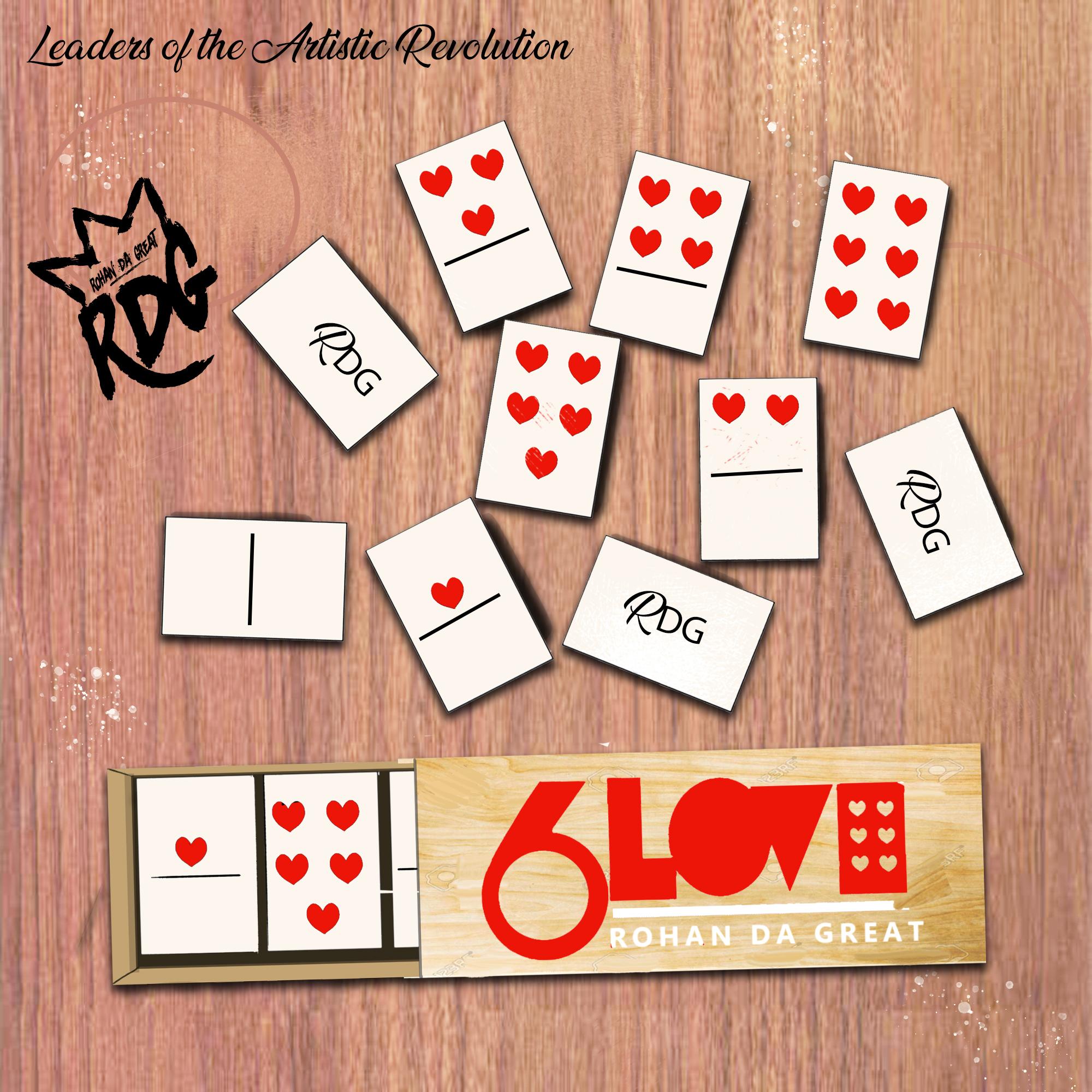 Rohan da Great - 6 Love (Physical Copy)