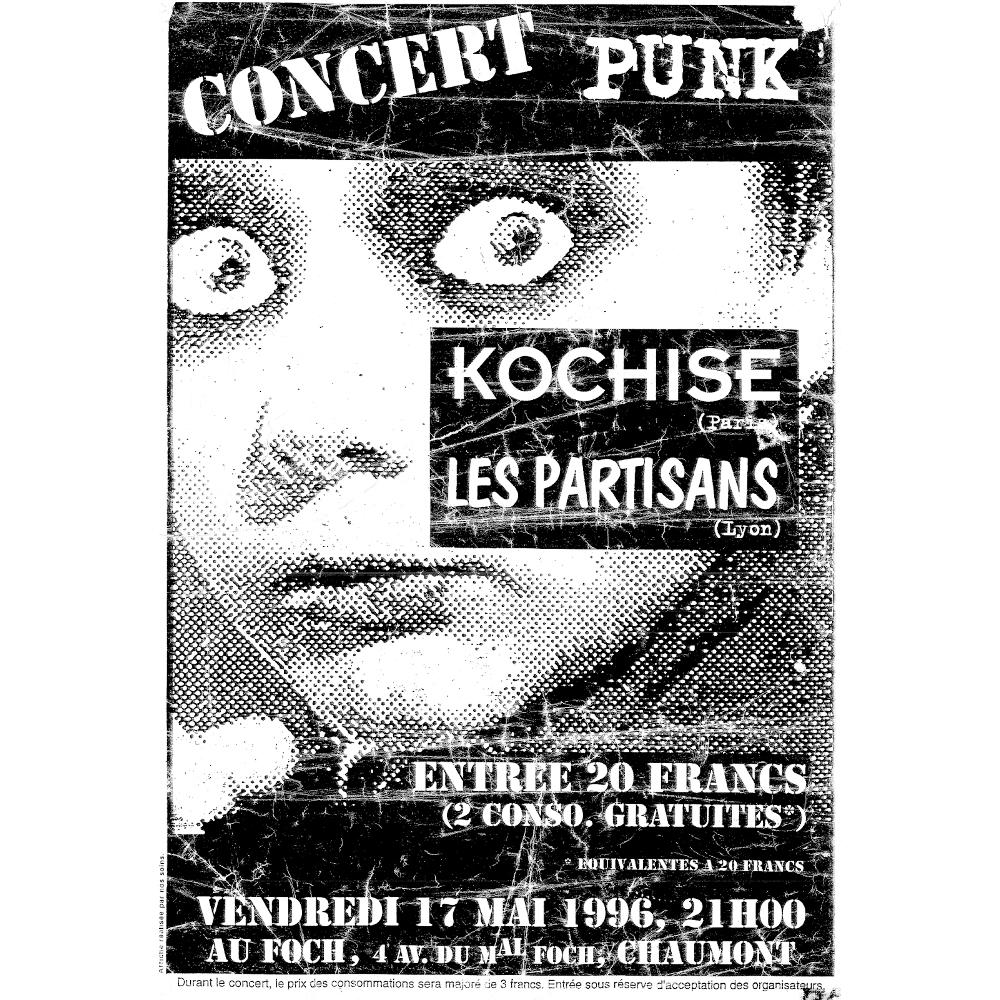 Kochise + Les Partisans - split LIVE 1996 !