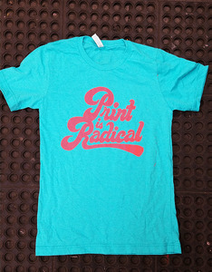Print is Radical - Miami Blue