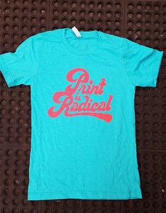 Print is Radical - Miami Blue