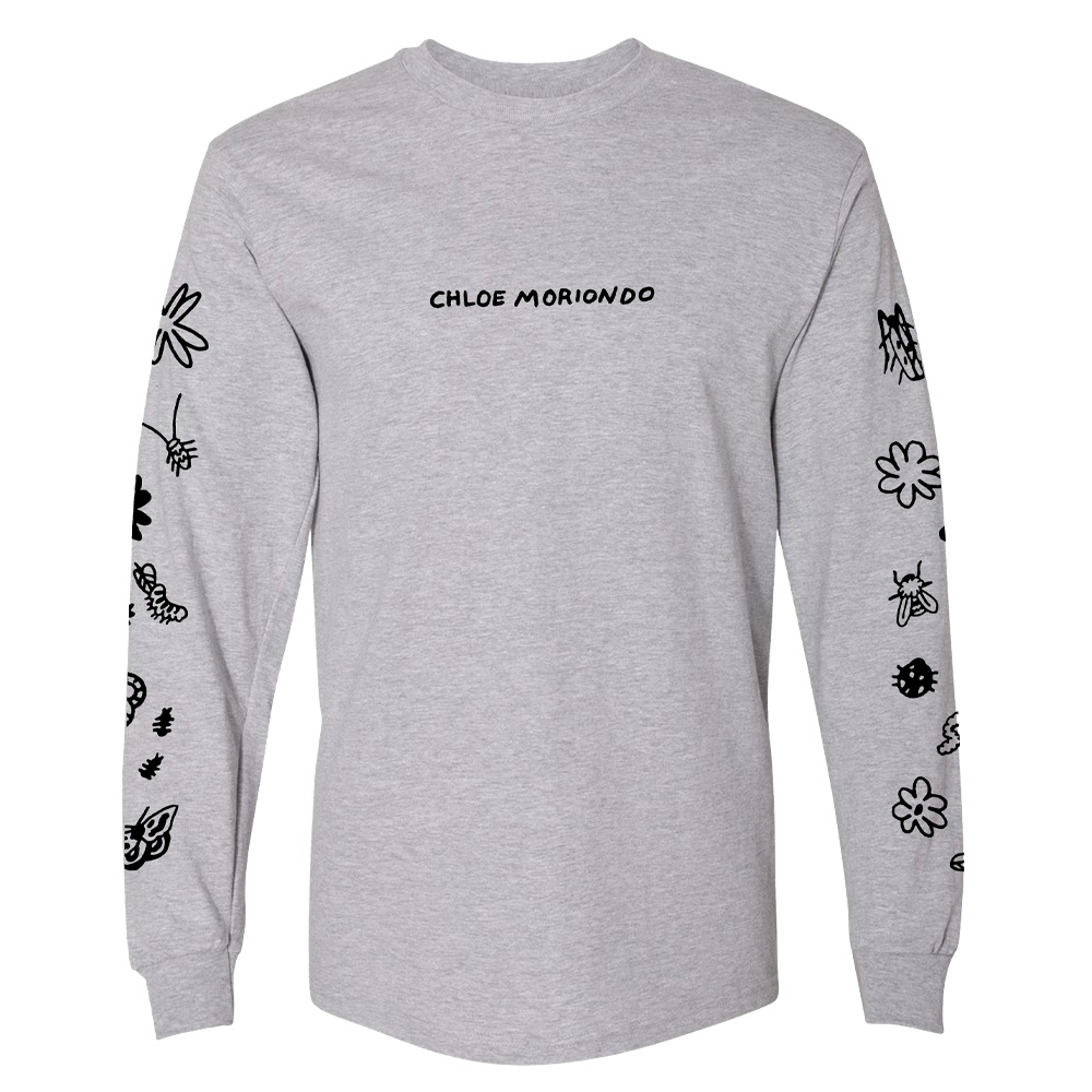 Doodles Long Sleeve - Grey