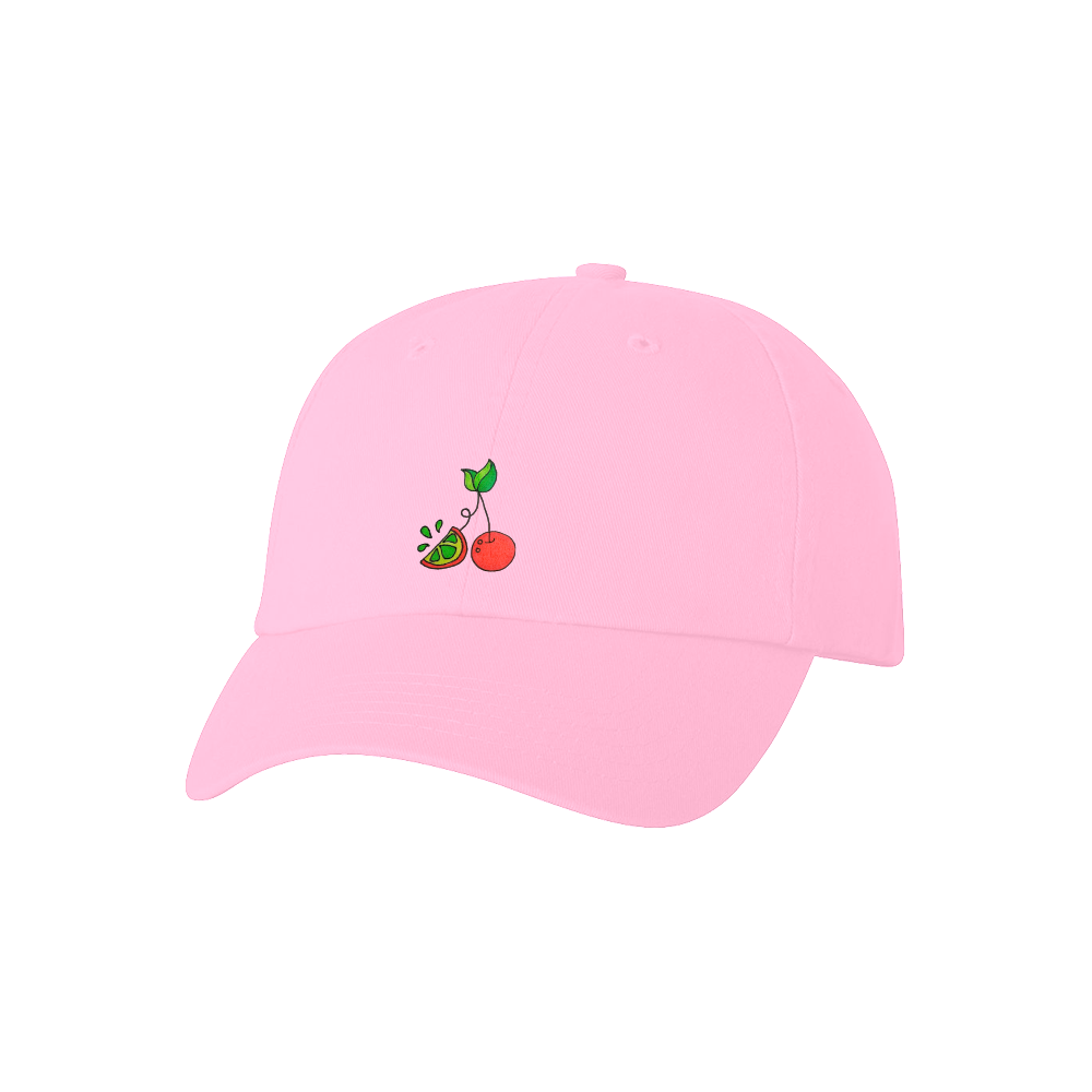 Cherry Lime Hat - Pink
