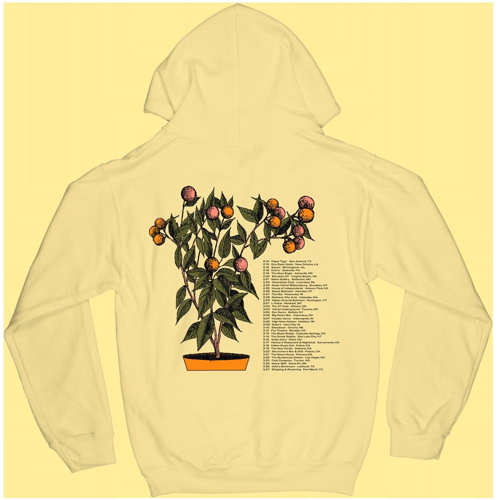 2020 Tour Hoodie - Yellow