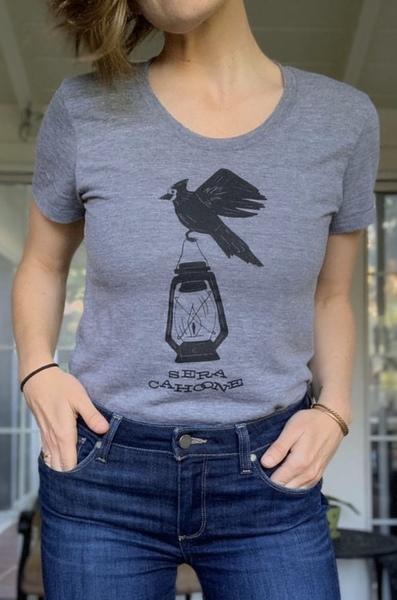 NEW- Women's Bird w/ Lantern Shirt