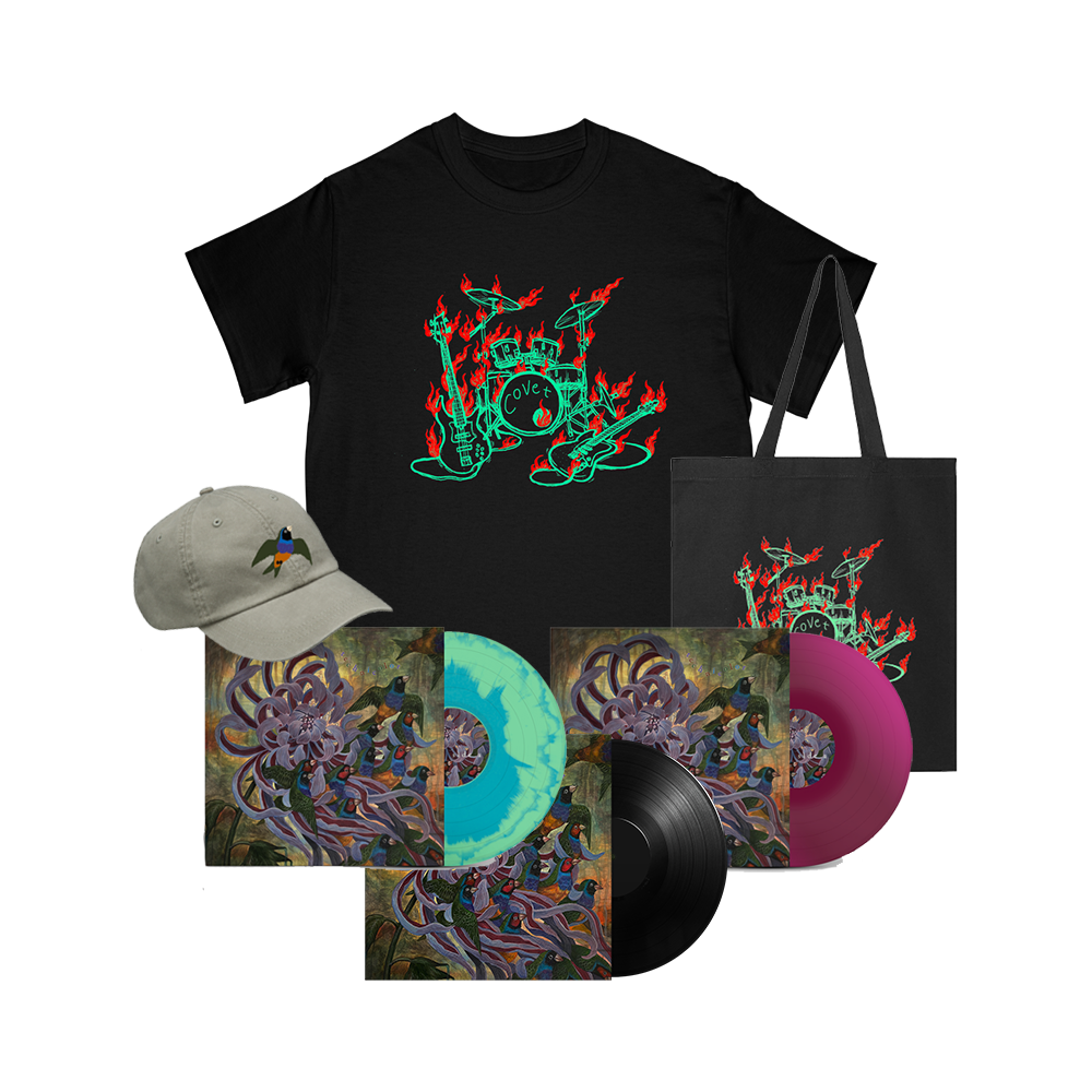 Technicolor LP + Tee + Hat + Tote
