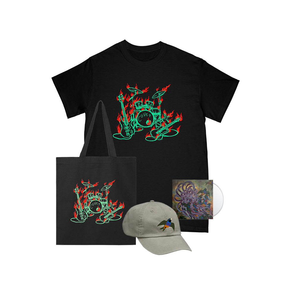 Technicolor CD + Tee + Hat + Tote