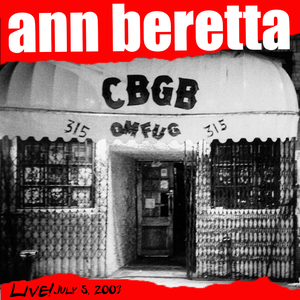 Live at CBGB's July 5th, 2003