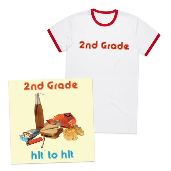 2nd Grade - Hit To Hit + Ringer Tee Bundle
