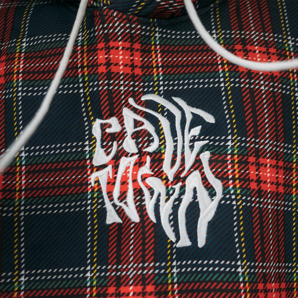 Plaid Wavy Hoodie + Sleepyhead Digital Download